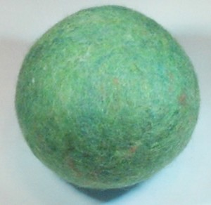 Shep's Eco Green Wool Dryer Balls