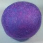 purple wool dryer ball