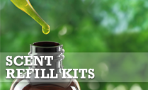 Scent your wool dryer balls easily with Shep's Essential Oil Scent Refills