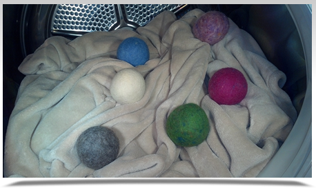Shep's Wool Dryer Balls  Natural Laundry Softener