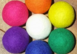7Pack Carnival Wool Dryer Balls